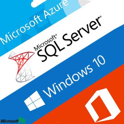 نرم افزار ها و خدمات مایکروسافت در مایکروسافت می