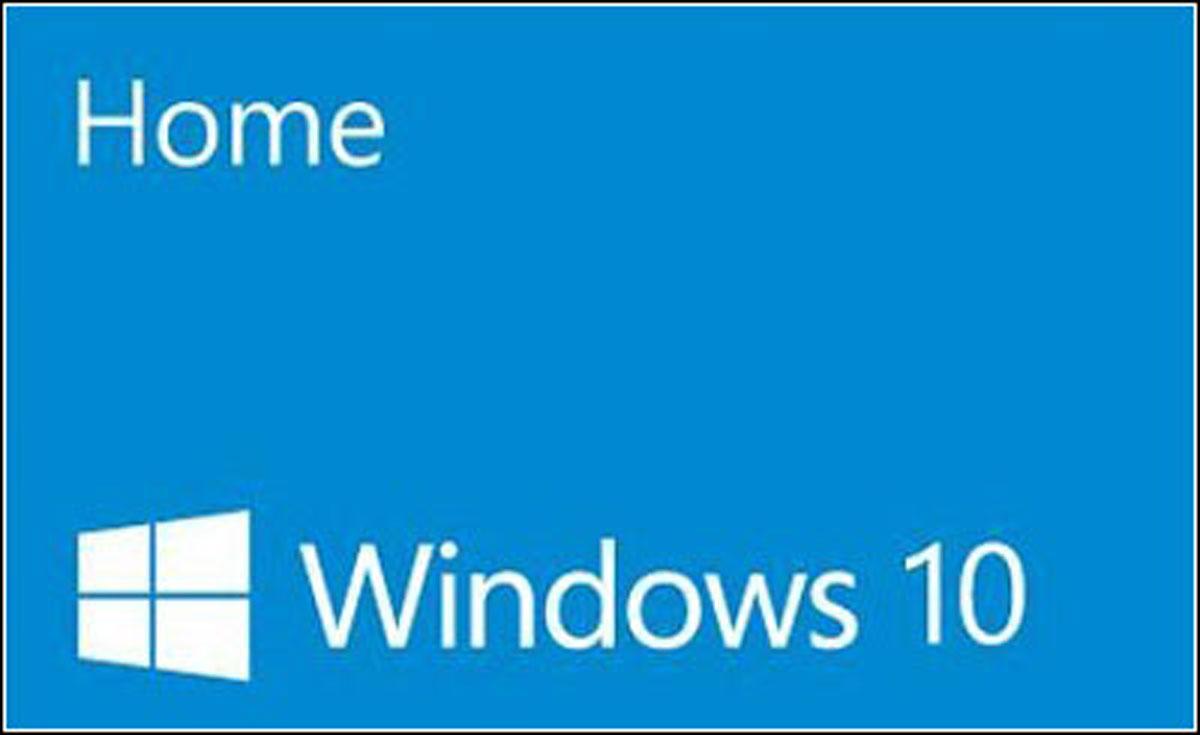 ویندوز 10 هوم