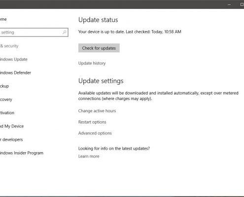 خاموش کردن آپدیت خودکار در ویندوز 10 در شبکه - آموزش های مایکروسافت در مایکروسافت می