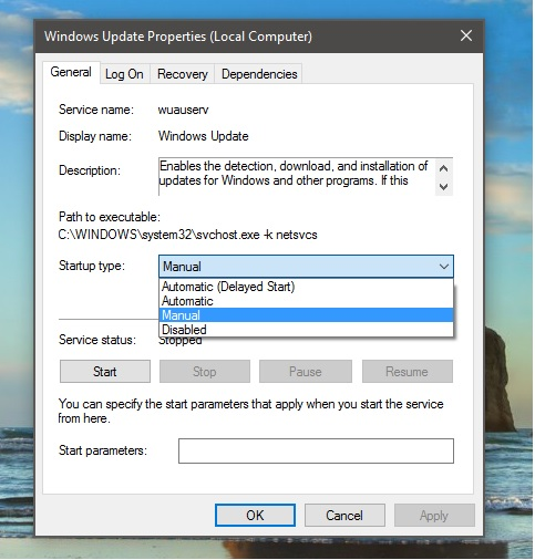 خاموش کردنبه روز رسانی خودکار در ویندوز 10 - آموزش های مایکروسافت در مایکروسافت می