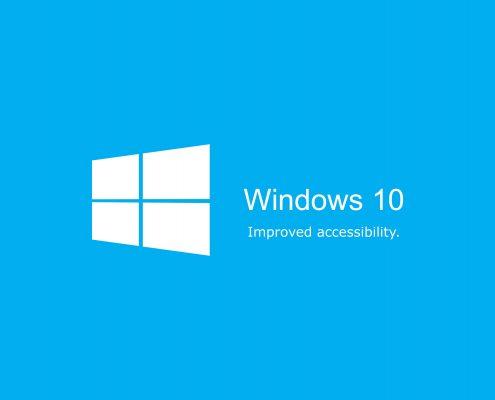 به روز رسانی سالانه ی ویندوز 10 به بهبود دسترسی پذیری ادامه میدهد جدیدترین اخبار مایکروسافت در مایکروسافت می