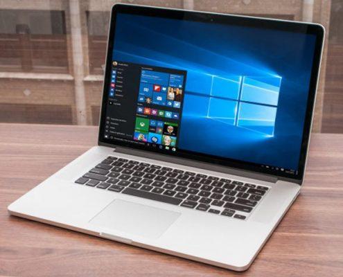 نصب ویندوز ده بر روی مک مایکروسافت می