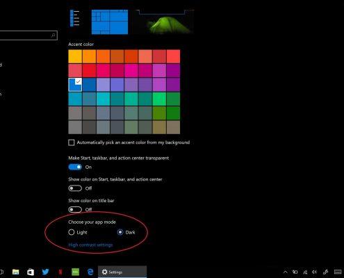 جالت تیره در ویندوز 10 بعد از یه روز رسانی سالانه مایکروسافت می