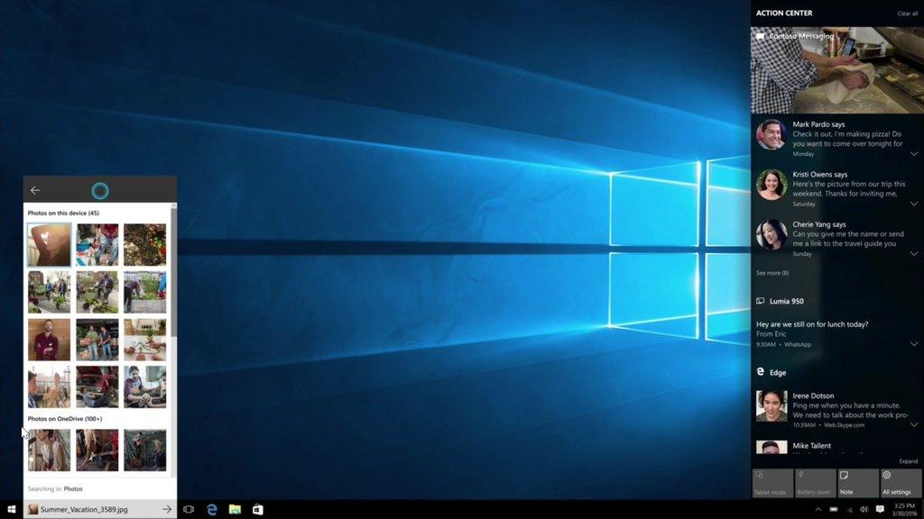 بهبود اکشن سنتر در ویندوز 10 مایکروسافت می
