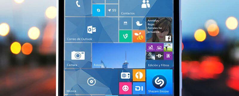 ویندوز 10 موبایل مایکروسافت می