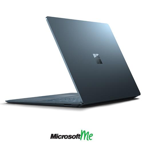 سرفیس لپ تاپ رنگ آبی کبالت نمای پشت