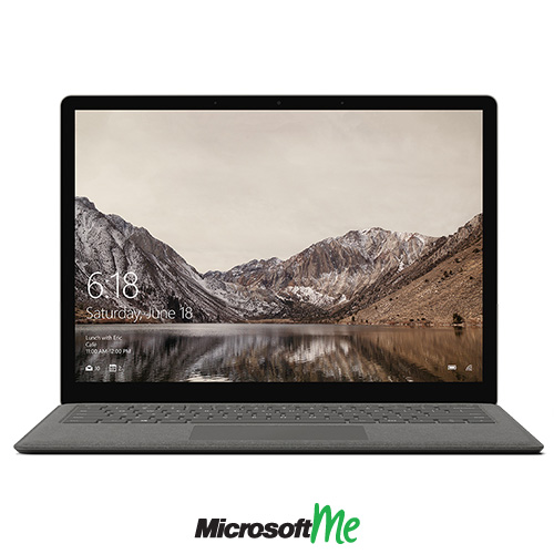 سرفیس لپ تاپ رنگ طلایی نمای روبرو