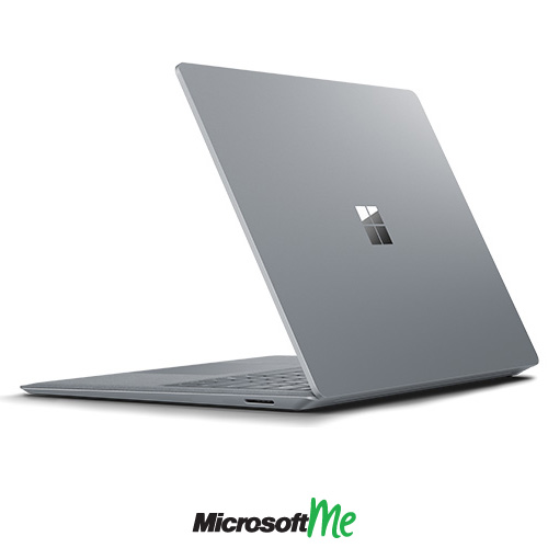 سرفیس لپ تاپ رنگ پلاتینی نمای پشت