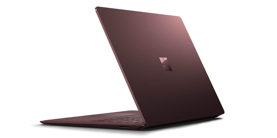 سرفیس لپ تاپ رنگ کبود یا بورگاندی