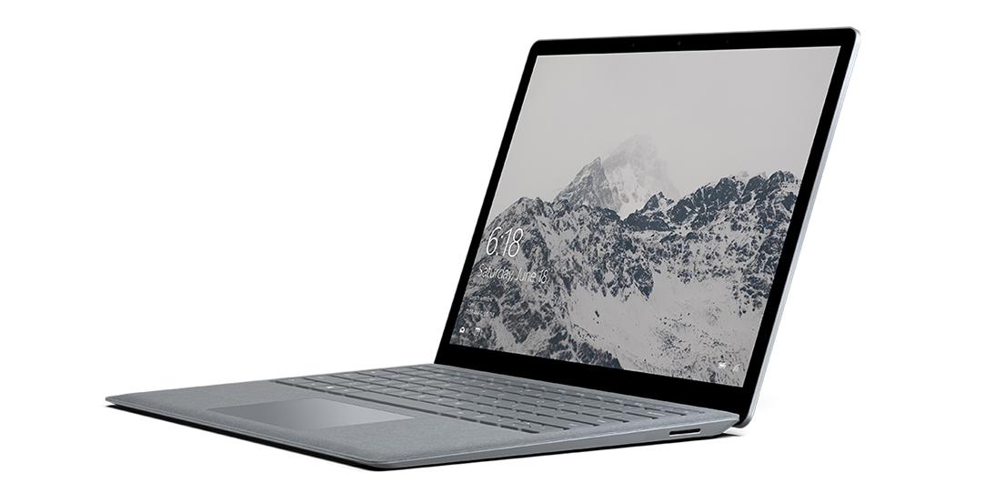 سرفیس لپ تاپ رنگ پلاتین