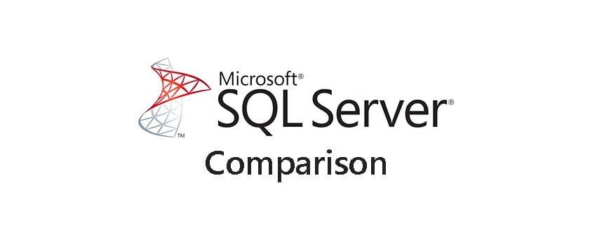 مقایسه نسخه های SQL سرور