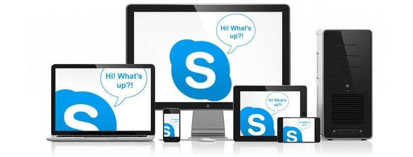 اسکایب در انواع دستگاه ها و پلتفرم ها