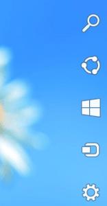 بخش چارمز در ویندوز 8.1