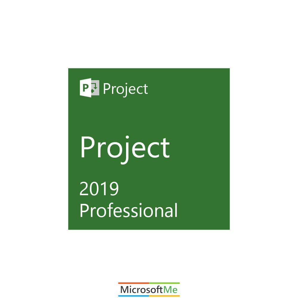 مایکروسافت پراجکت پروفشنال 2019