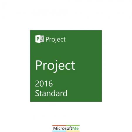 مایکروسافت پراجکت استاندارد 2016