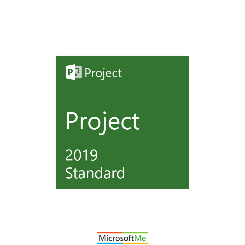 مایکروسافت پراجکت استاندارد 2019