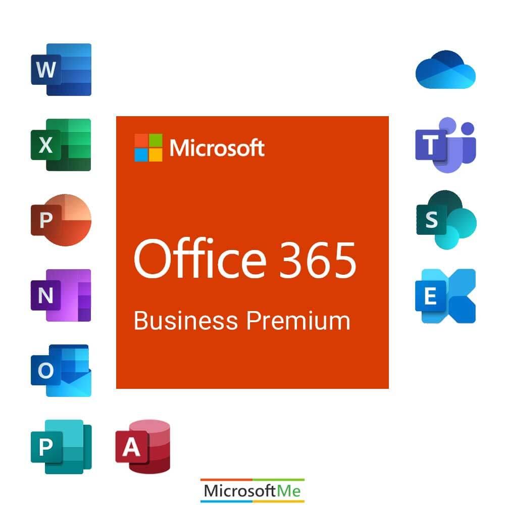 خرید آفیس 365 business premium
