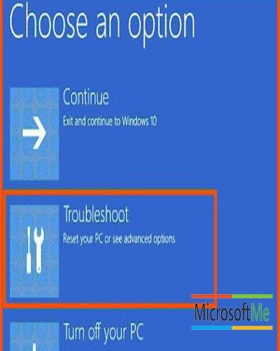 آموزش تصویری تعمیر ویندوز 10