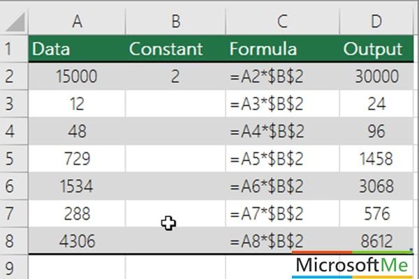 فرمول نویسی پیشرفته در اکسل