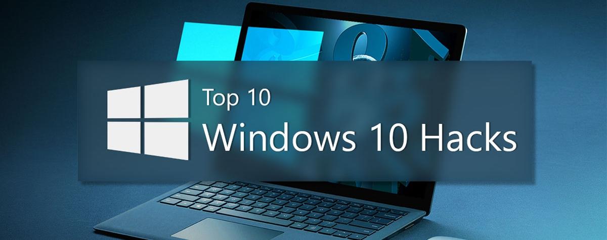 بهترین ترفند های ویندوز 10