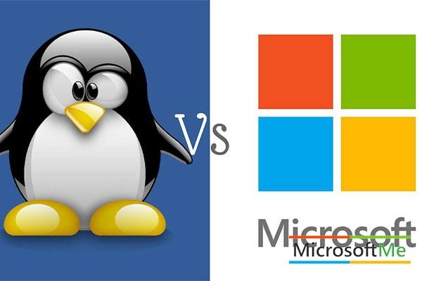 تفاوت لینوکس و ویندوز ۱۰