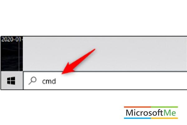 روش نخست پیدا کردن شماره سریال ویندوز ۱۰