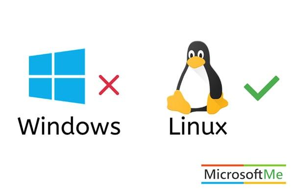 کلید اصلی تفاوت لینوکس و ویندوز در چیست؟